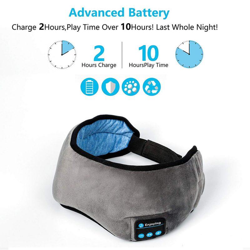 Travel Sleeping Headphone Eye Mask